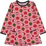 Maxomorra Mädchen Tunika Kleid Äpfel Tunik LS Apple (86/92)