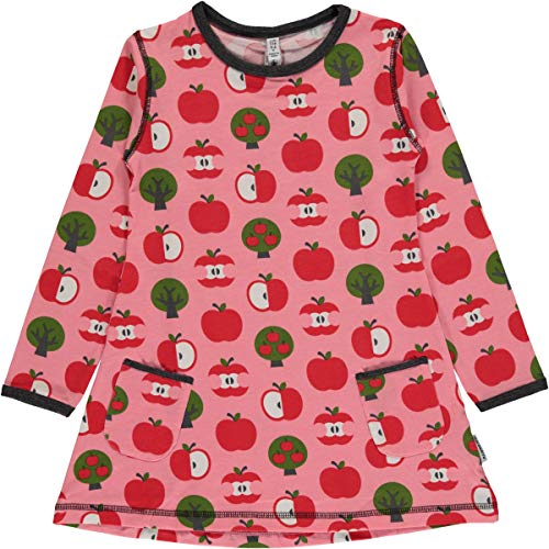 Maxomorra Mädchen Tunika Kleid Äpfel Tunik LS Apple (98/104)