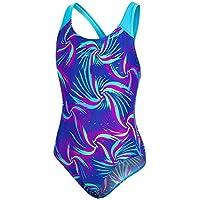 Speedo Colourmelt Allover Splashback Bañador, Niñas