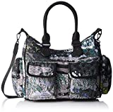 Desigual Bols_explorer_london , Women's Shoulder Bag, Green (Verde Militar), 15.5x...