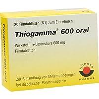 THIOGAMMA 600 ORAL 30St Filmtabletten PZN:4972007 preisvergleich bei billige-tabletten.eu