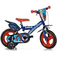Bicicletta Spiderman 3 4 Anni Biciclette Senza Pedali Amazonit