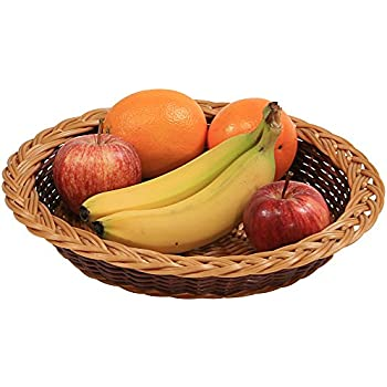 und Obstkorb 34 cm Kesper 17811 Brot braun