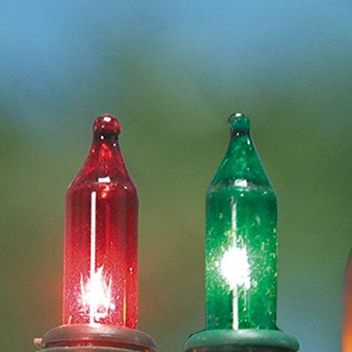 Preisvergleich Produktbild Ersatzlampe / Ersatzkerze bunt für 35-teilige Lichterkette,  5er Pack