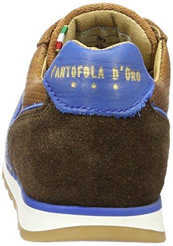 Pantofola d'Oro Jungen Canino Ragazzi Low Top Braun (Tortoise Shell)