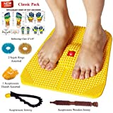 Acupressure Power Mat with Magnets n Pyr...