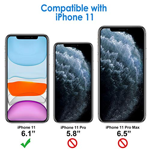 JETech Funda Compatible iPhone 11 (2019) 6, 1