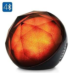 SHOPINNOV Enceinte Bluetooth portable Color Ball Autonomie 10H Port carte micro SD Telecommande
