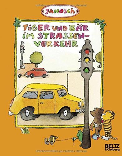 Tiger und Bär im Straßenverkehr ()