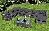 Baidani Rattan Lounge-Garnitur Perfection aus der Collection Ronde