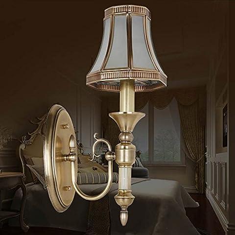 Le lampade in ottone luci da parete camera da letto