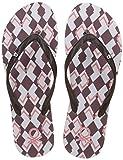 United Colors of Benetton Women's Brown Flip-Flops - 4 UK/India (37 EU)