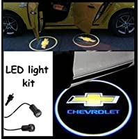 Chevrolet di cortesia (anta luce) LED CREE R3 Light Kit Chevrolet Bowtie Logo (Coppia)