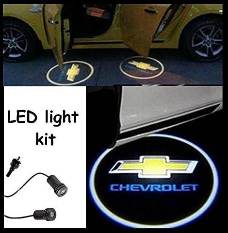 CHEVROLET Einstiegsbeleuchtung ( Türlicht ) LED CREE R3 light kit CHEVROLET BOWTIE Logo ( paar )
