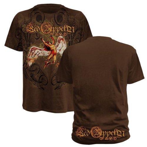 Swan Glory,T-Shirt,Gr:S,Braun (Zeppelin T-shirts Rock Led)