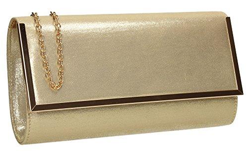 SwankySwans , Pochette pour femme Taille Unique doré