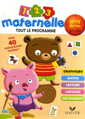 1 2 3 Maternelle Petite section 3-4 ans