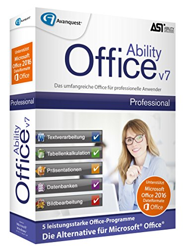 Preisvergleich Produktbild Ability Office 7 Professional