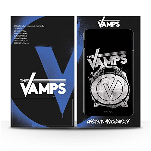Offiziell The Vamps Hülle / Glanz Snap-On Case für Apple iPhone SE / Pack 6pcs Muster / The Vamps Graffiti Band Logo Kollektion Bassdrum