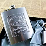 #9: CPEX Stainless steel Jack daniels Hip Flask Alcoholic Beverage Holder