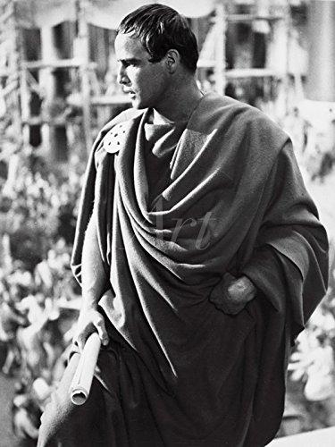 Artland Wandbilder selbstklebend aus Vliesstoff oder Vinyl-Folie Filmszene Julius Caesar, 1953 Film & TV Stars Fotografie Schwarz/Weiß C4DY