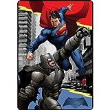 Comics Batman VS Superman Heroes Duel 157,5x 228,6cm enfants en peluche Couverture