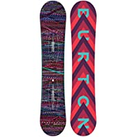 Burton Feather Snowboard, Mujer, Feather, Negro, 144