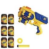 X-Shot - Pistola de dardos y discos con doble cargador (Colorbaby 42583)