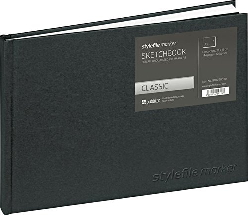 Preisvergleich Produktbild Stylefile Marker Classic Skizzenbuch Din A5 horizontal