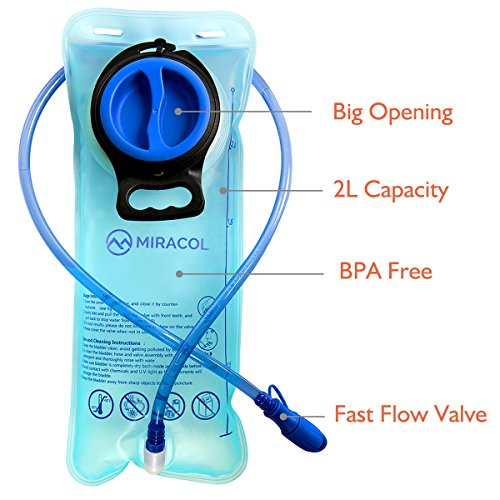 Miracol vescica di idratazione 2 litri 70 oz Reservoir