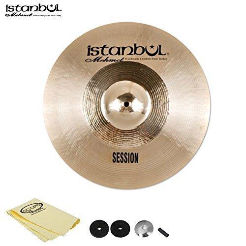 Istanbul jf-ss-c16-kit-1Mehmet Becken Session Crash 40,6cm mit Cymbal Felts, Ärmel, Tasse Waschmaschine & Polish Reinigungstuch