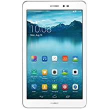 Huawei Mediapad T1 8 - Tablet de 8 pulgadas (WiFi, Procesador quad-core, 1 GB de RAM, 16 GB de memoria interna, Android 4.3 + EMUI 3.0), color blanco