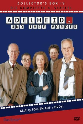 Adelheid und ihre Mörder - Adelheid Box 4: Die komplette 4. Staffel [3 DVDs]
