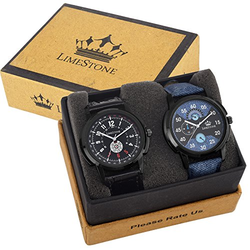 LIMESTONE Analogue multi-colour Dial Men Watch LS2634-2643
