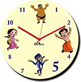 2 O Clock Chota Bheem Team Printed Analo...