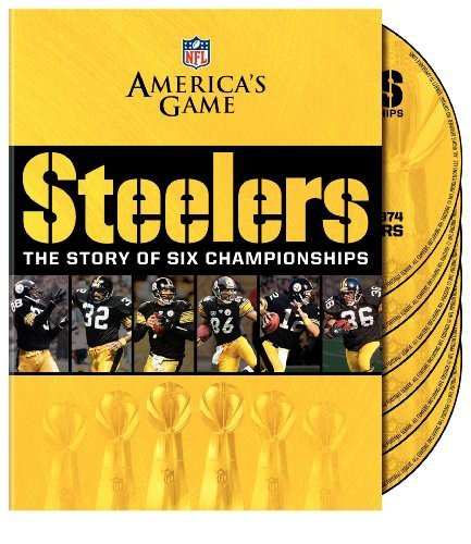 Nfl: America's Game: Pittsburgh Steelers Story Of [DVD] [Region 1] [NTSC] [US Import] (Films Steelers Nfl)
