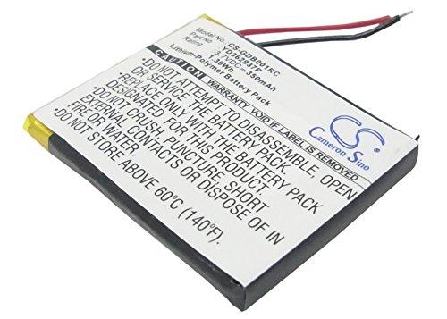 CS Remote Control Akku,Li-Polymer 3.7V 350mAh / 1.30Wh passend fuer [GoPro] Wi-Fi Remote,ARMTE-001,HERO4,HERO3,Hero 4,Hero 3,Hero 3+,ersetzt [GoPro] YD362937P