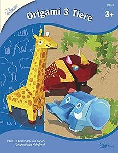 Mammut 157001-Juego de Manualidades para niños de Origami 3Animales