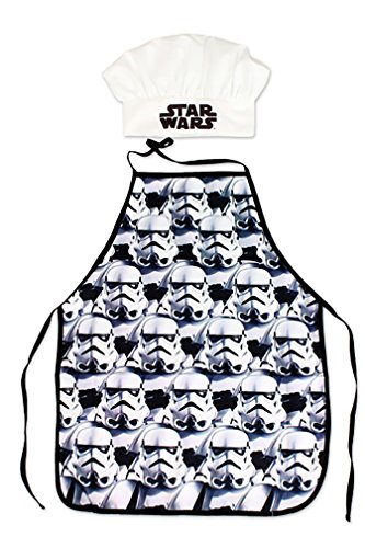 Star Wars Delantal y gorro para niños poliéster