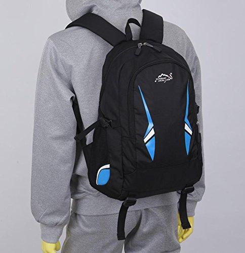 BM Outdoor Rucksäcke für Männer und Frauen Sport Freizeit Tasche Schule Taschen Taschen Umhängetasche blau
