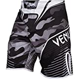 Venum Herren Training Shorts Camo Hero, White/Black, M