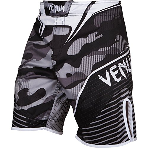 Venum Herren Training Shorts Camo Hero White/Black, M -