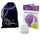 Me Luna Coupe menstruelle Classic, boule, transparent, taille S