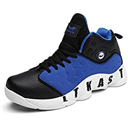 Mr. LQ - Bádminton profesional / tenis / zapatillas de tenis de mesa , blue / black , 43