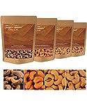 Cashewkerne Special Mix (Saigon Special) 4 x 250 g, Premium-Qualität aus Vietnam, naturbelassene ganze Nüsse, geröstet & gesalzen, knackig & lecker