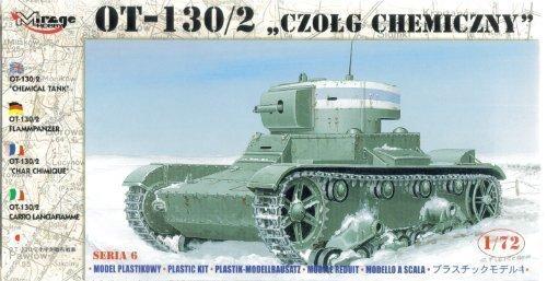 Mirage Hobby 72615 - OT-130/2 Flammpanzer, Panzer