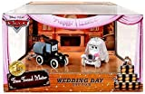 Disney Cars Time Travel Mater Stanley and Lizzie Wedding Day Die-Cast Set - Limited Theme Park Exclusive Edition
