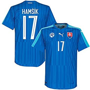 Slowakei Away Trikot 2016 2017 + Hamsik 17 (Fan Style)