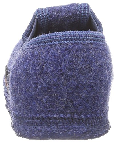 Giesswein Trochtelfingen Jungen Flache Hausschuhe Blau (jeans / 527)