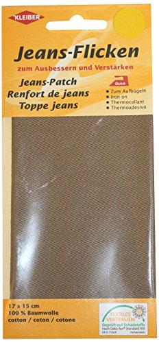 kleiber-17-x-15-cm-patch-reparation-denim-pour-jeans-beige